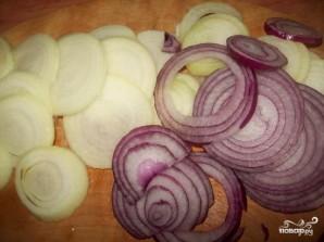 Картофель по-французски с фаршем - фото шаг 3
