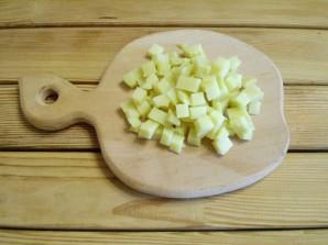 Салат с грибами и огурцами - фото шаг 3