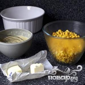 Хлеб с кукурузными зернами - фото шаг 1