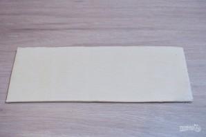 Пирог из слоеного бездрожжевого теста с фаршем - фото шаг 4