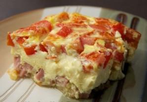 Омлет с луком и помидорами - фото шаг 5
