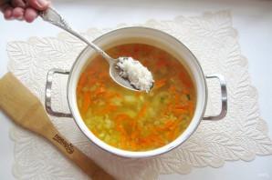Рисовый суп с колбасой - фото шаг 6