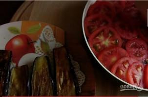 Запеканка из баклажанов с фаршем и сыром - фото шаг 7