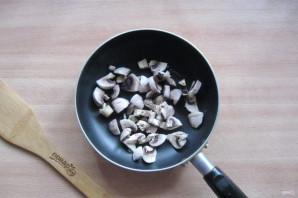 Омлет с брокколи и грибами - фото шаг 2