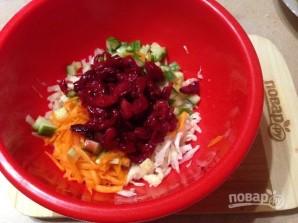 Салат из капусты с вишней - фото шаг 5