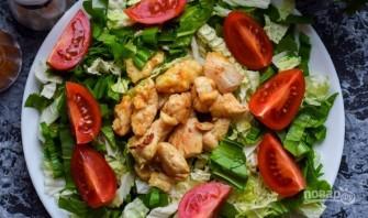 Салат из китайской капусты и помидоров - фото шаг 4