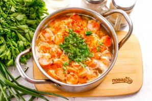Суп с чечевицей и сосисками - фото шаг 7