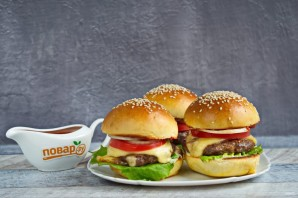 Говяжий бургер - фото шаг 7