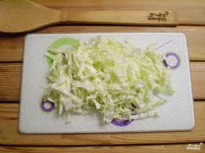 Салат из редиски дайкон - фото шаг 3