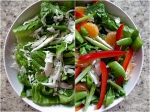 Салат с куриной грудкой без майонеза - фото шаг 2