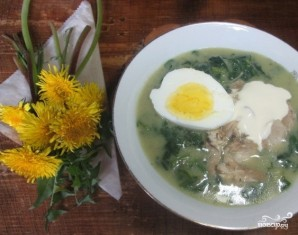 Суп из молодой крапивы - фото шаг 4
