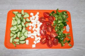 Салат с зелёным болгарским перцем - фото шаг 3