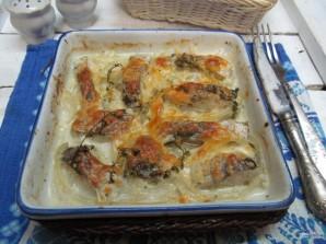 Хек в духовке с картошкой  - фото шаг 9