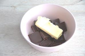 """Торт """"Птичье молоко"""" с малиной - фото шаг 18"""