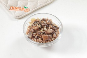 Зразы с гречкой в грибном соусе - фото шаг 4