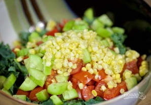 Салат из курицы с грибами - фото шаг 3