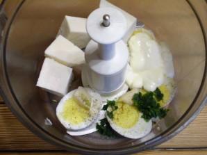 Закуска с сыром и чесноком - фото шаг 4