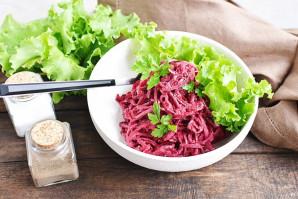 Салат со свежей свеклой - фото шаг 8