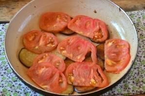 Омлет с баклажанами и помидорами - фото шаг 4