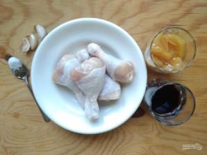 Куриные голени в медово-соевом маринаде - фото шаг 1