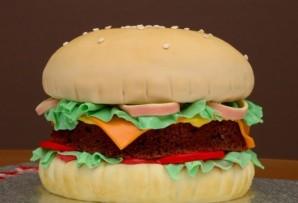 """Торт """"Гамбургер"""" - фото шаг 8"""