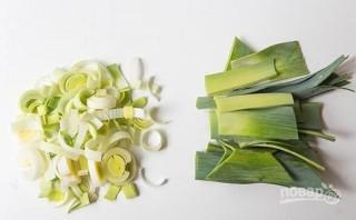 Суп из картофеля и лука-порей - фото шаг 2