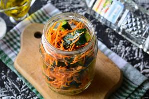 Огурцы по-корейски с морковью - фото шаг 5