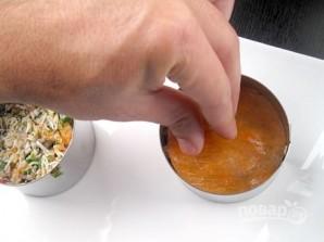 Закуска из краба и копченого лосося - фото шаг 7