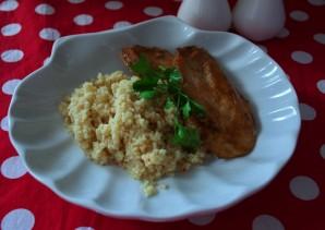 Гарнир диетический с курицей - фото шаг 8