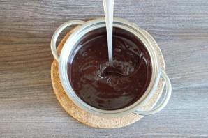 Шоколадное печенье с кракелюрами - фото шаг 5