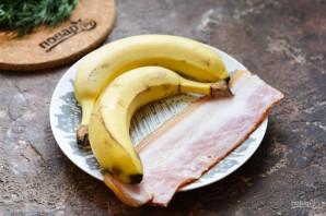Бананы в беконе - фото шаг 1