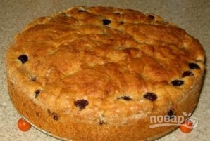 Вишневый пирог простой - фото шаг 5