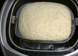"""Тесто для пиццы в хлебопечке """"Мулинекс"""" - фото шаг 8"""