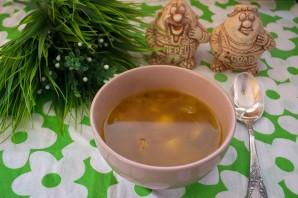 Простой суп с мясом  - фото шаг 8