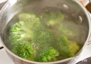 Макароны с брокколи - фото шаг 1