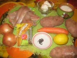 Щука с картошкой в духовке - фото шаг 1