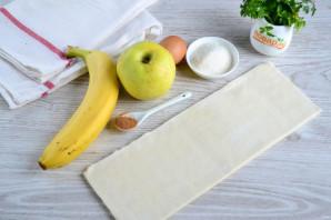 Штрудель с бананом - фото шаг 1