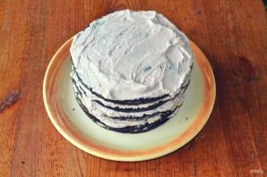 "Торт ""Темный Ларри"" - фото шаг 17"