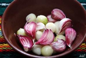 Скумбрия с овощами в духовке - фото шаг 4