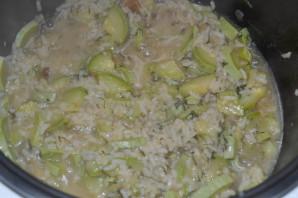 Рис с кабачками в мультиварке - фото шаг 8