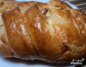 Слоеный сырный пирог - фото шаг 9