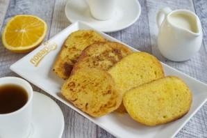 Французские тосты с апельсином и лимонной цедрой - фото шаг 5