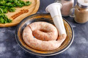 Куриная колбаса с салом - фото шаг 4