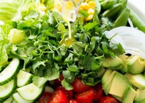 Мексиканский овощной салат - фото шаг 5