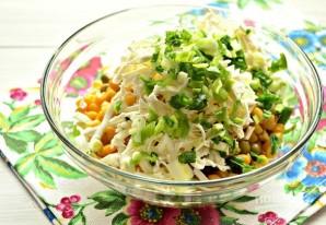 Салат из кальмаров с яйцом и сыром - фото шаг 7
