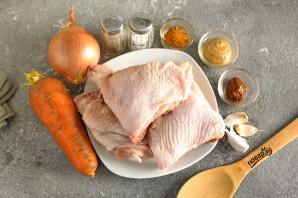 Курица с овощами в собственном соку - фото шаг 1