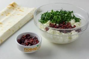 Закусочный рулет с сыром - фото шаг 3