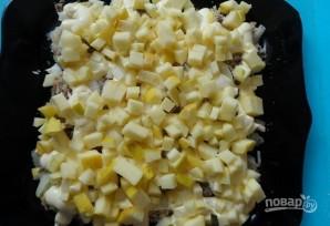 Рыбный салат с солеными огурцами - фото шаг 4