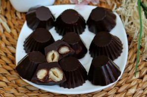 Шоколадные конфеты с орехами - фото шаг 11
