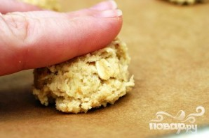 Овсяное печенье с белым шоколадом - фото шаг 2